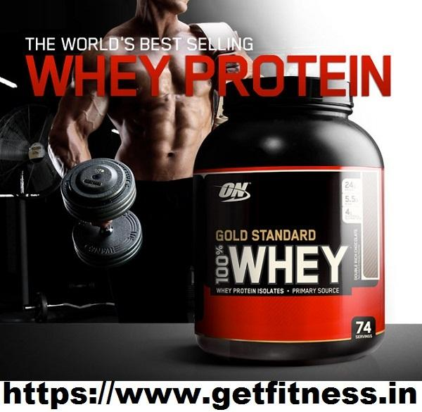 Visit Getfitness.in to Buy Whey Protein Online At Discounted Price