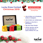 Sache Wellness Lucky Draw Contest