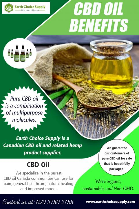 CBD Oil Benefits | Call - 416-922-7238 | earthchoicesupply.com