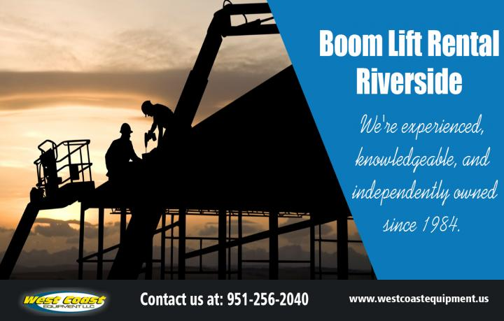 Boom Lift Rental Riverside | westcoastequipment.us