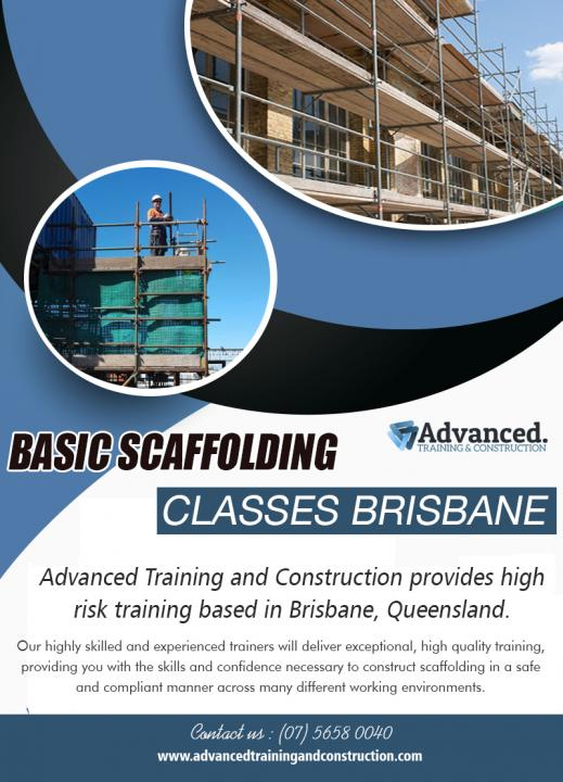 Basic Scaffolding Classes Brisbane | Call - 0756580040 | advancedtrainingandconstruction.com