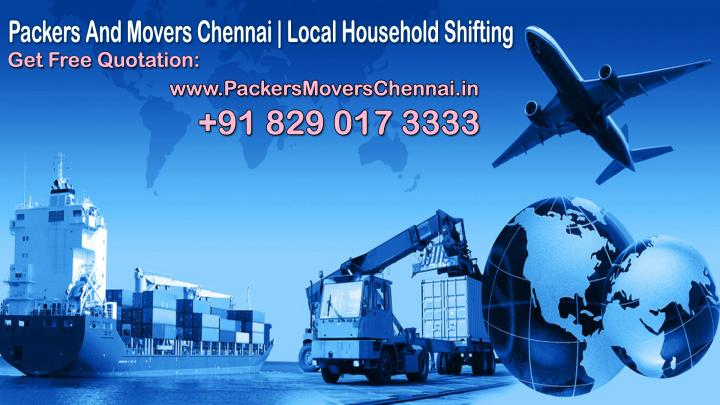 Best Deal on Local Packers And Movers Chennai Approx Charegs Services Program