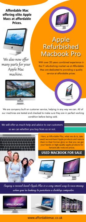 Apple Refurbished Macbook Pro