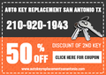 Auto Key Replacement San Antonio TX - Car Key - #1 Locksmith Ser